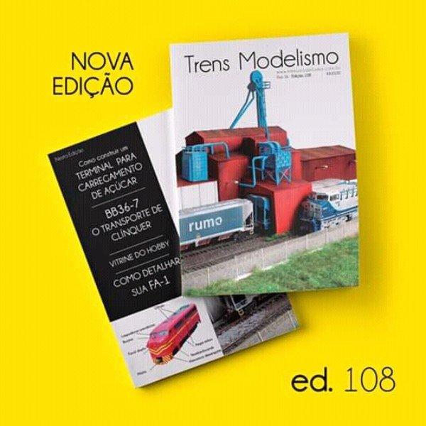 Nova edição Trens Modelismo,