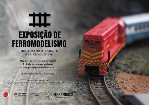 3 EXPOSIÇAO DE FERROMODELISMO – RECIFE – PE